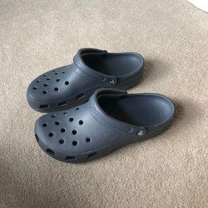 Crocs light blue/grey